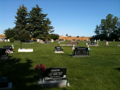 Airdrie cemetery